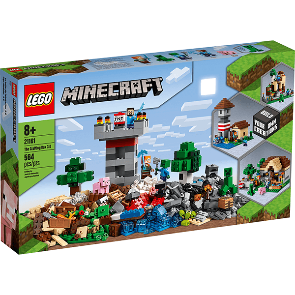 LEGO® Minecraft™ 21161 The Crafting Box 3.0