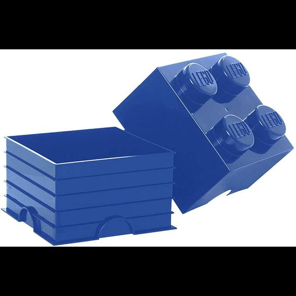 Lego Storage 4 Brick - Blue