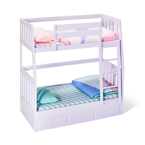 Our Generation Dream Bunk Bed Lilac Jr Toy Company