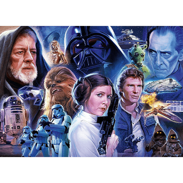 Ravensburger Star Wars Collection 1 - 1000 Piece Puzzle