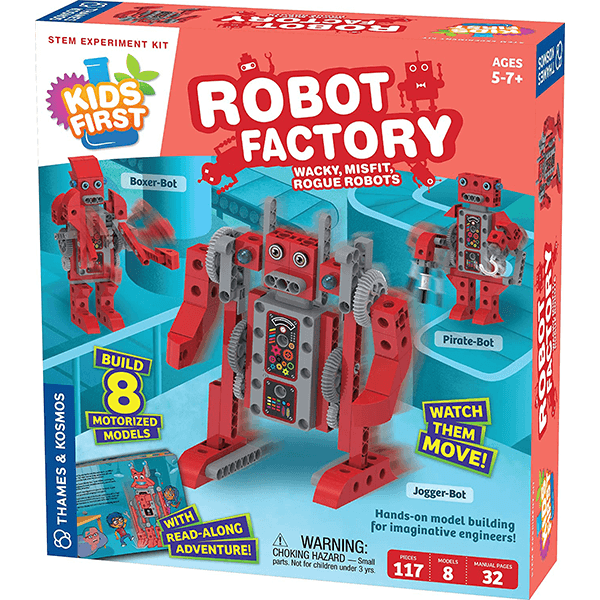 Thames & Kosmos Kids First Robot Factory