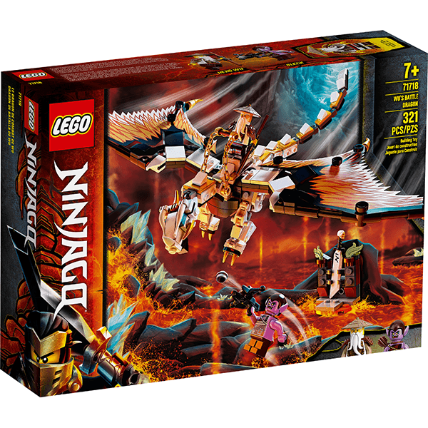 LEGO® NINJAGO® 71718 Wu's Battle Dragon