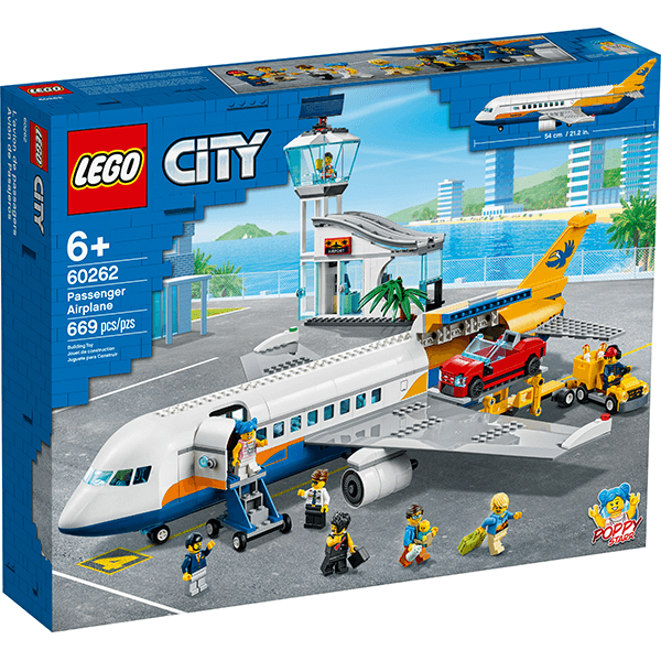 LEGO® City 60262 Passenger Airplane