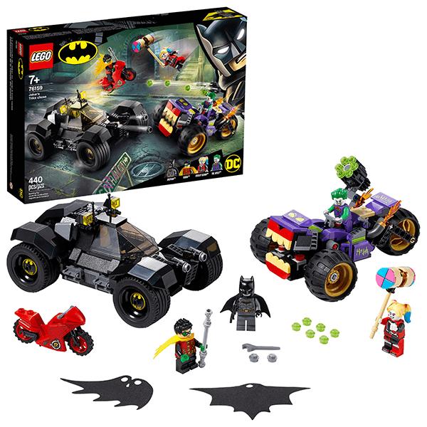 LEGO® DC Batman™ 76159 Joker's Trike Chase