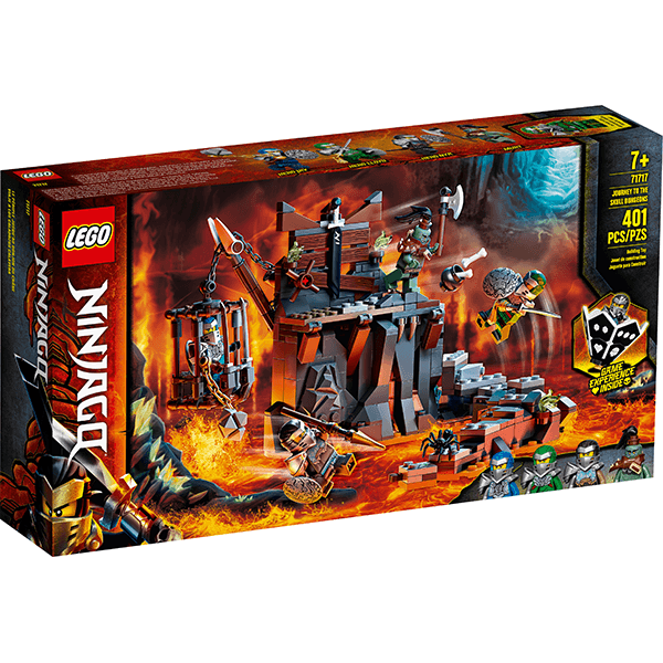 LEGO® NINJAGO® 71717 Journey to the Skull Dungeons