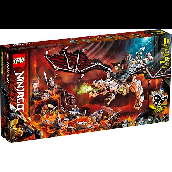 LEGO® Ninjago 71721 Skull Sorcerer's Dragon