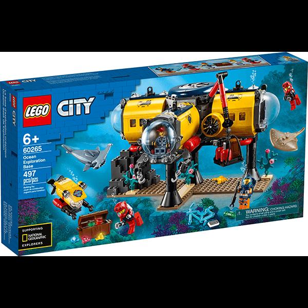 LEGO® City 60565 Ocean Exploration Base