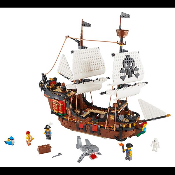 LEGO® Creator 31109 3-in-1 Pirate Ship