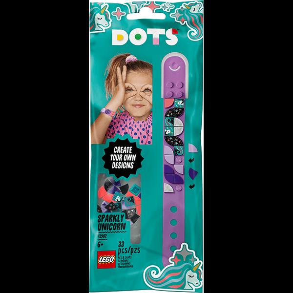 LEGO® DOTS 41902 Sparkly Unicorn Bracelet