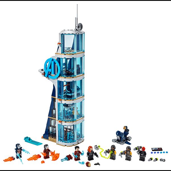 LEGO® Marvel Avengers 76166 Avengers Tower Battle