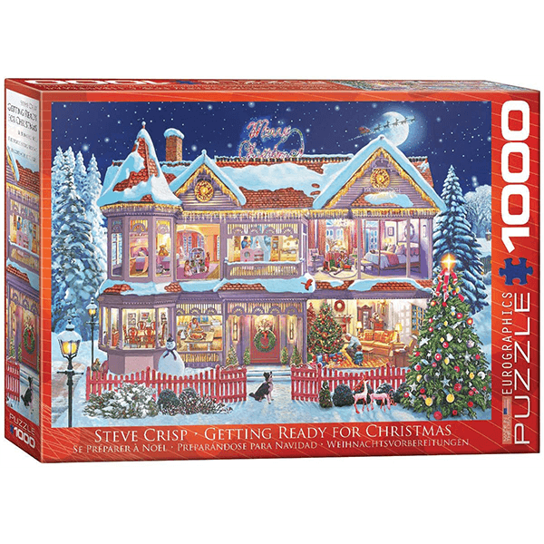 Eurographics Getting Ready for Christmas 1000 Piece Puzzle