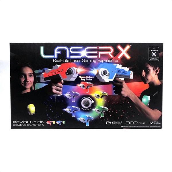 Laser X Revolution Double Blaster
