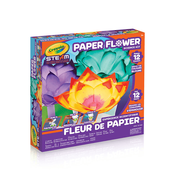 Crayola Paper Flower Science Kit