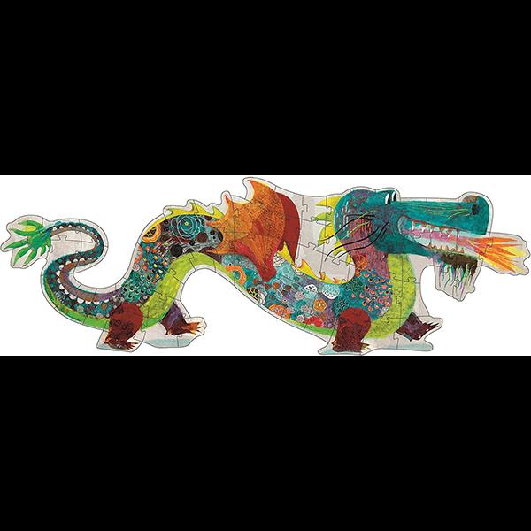 Djeco Leon The Dragon 58-Piece Giant Puzzle