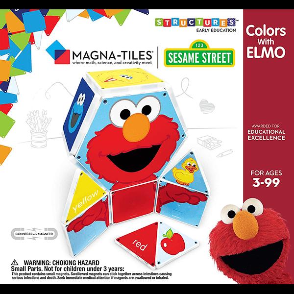Magna-Tiles Sesame Street Colours with Elmo