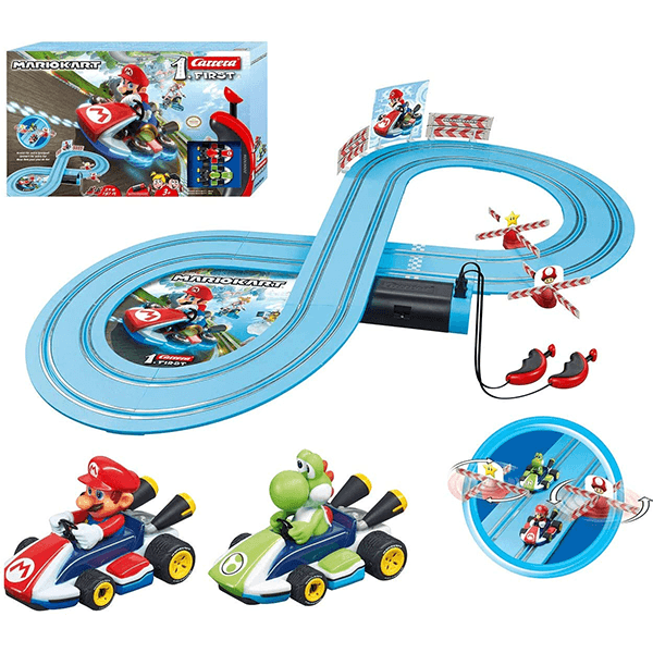 Carrera Nintendo Mario Kart First with Spinner Race Track