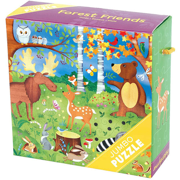 Mudpuppy Forest Friends Jumbo Puzzle