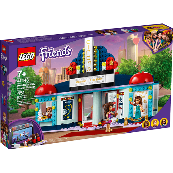 LEGO® Friends 41448 Heartlake City Movie Theater