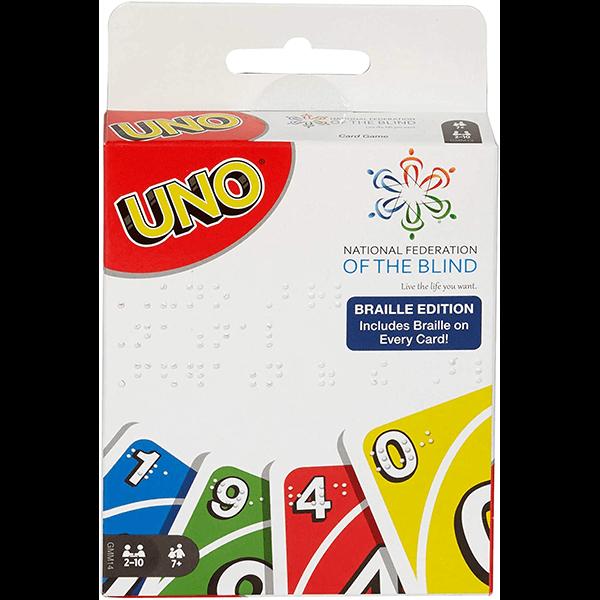 UNO - Braille Card Game
