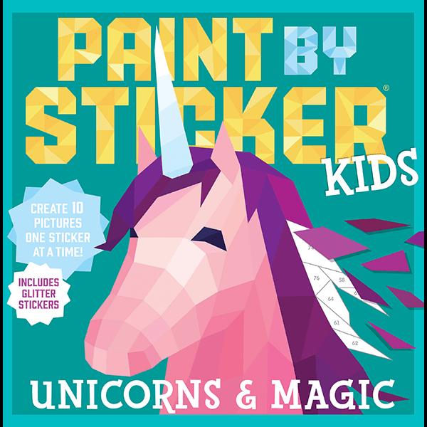 Workman Publishing Paint by Sticker Kids: Unicorn & Magic