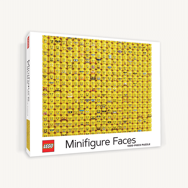 LEGO® Minifigure Faces Puzzle