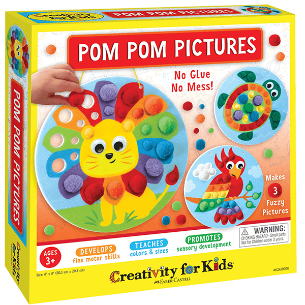 Creativity for Kids: Pom Pom Pictures