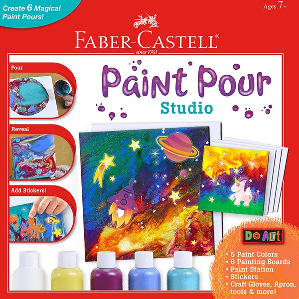 Faber Castell Do Art - Paint Pour Studio