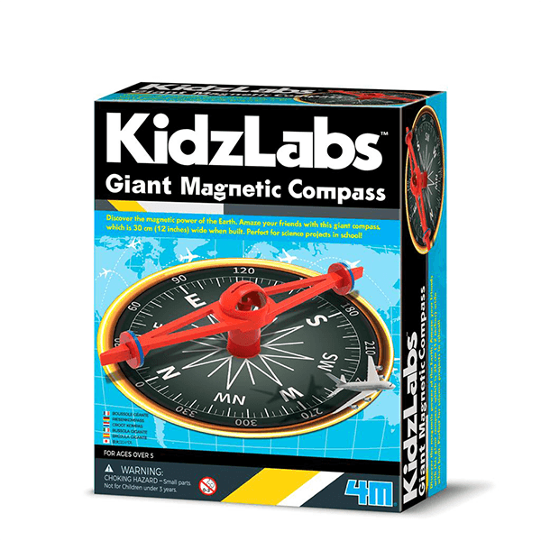 4M Giant Magnetic Compass