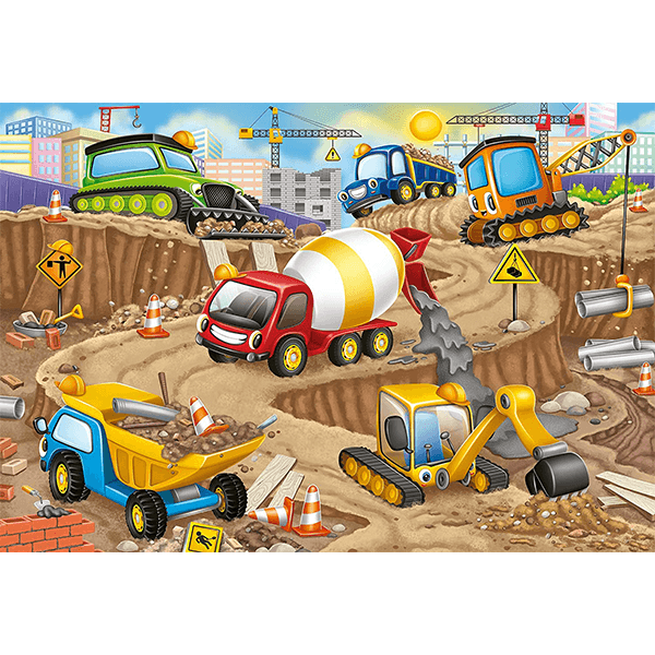 Ravensburger Construction Fun 24 Piece Puzzle