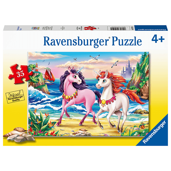 Ravensburger Beach Unicorns 35 Piece Puzzle