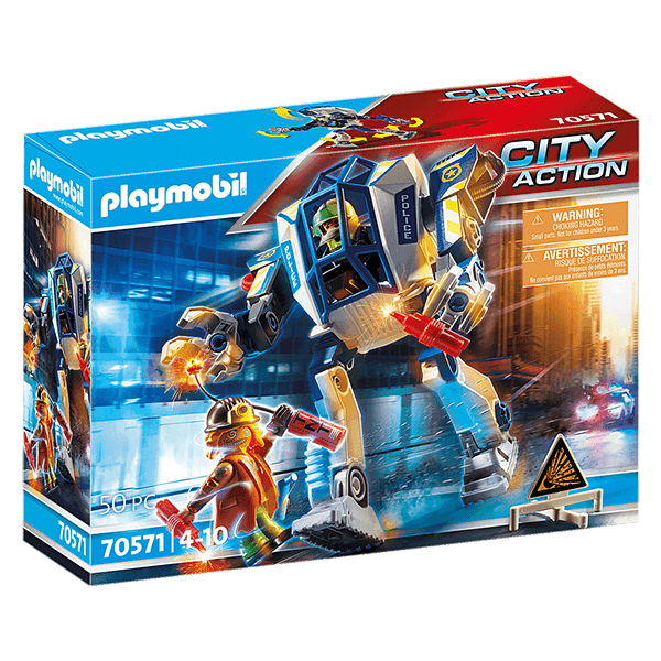 Playmobil Special Operations Police Robot