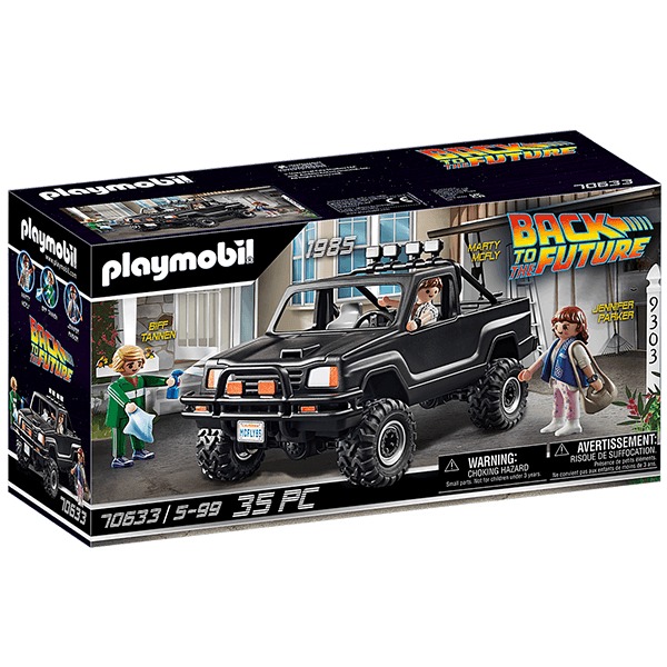 Playmobil Back to the Future - Marty's Pick Up Truck