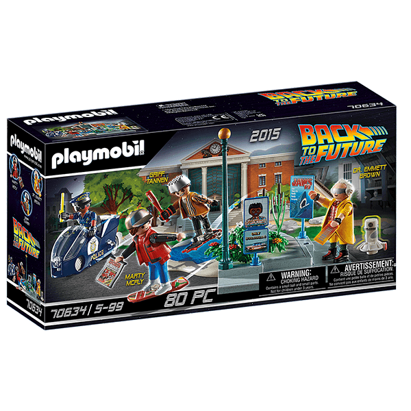 Playmobil Back to the Future II - Hoverboard Chase