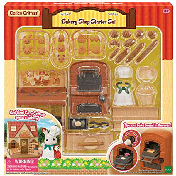 Calico Critters Bakery Shop Starter Set