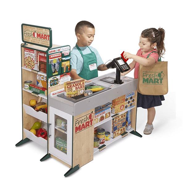 Melissa & Doug Fresh Mart Grocery Store Playset