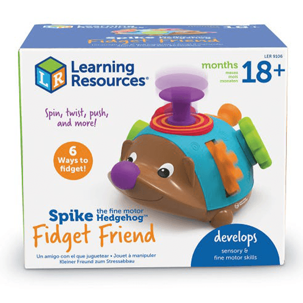 Spike the Fine Motor Hedgehog Fidget Friend