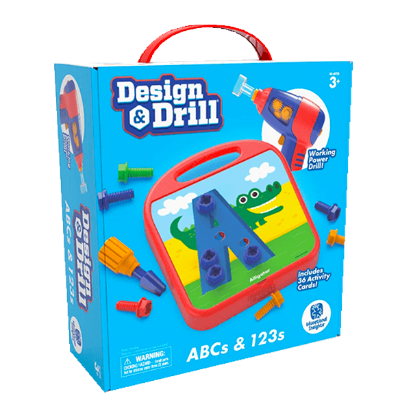 Educational Insights Design & Drill® ABCs & 123s