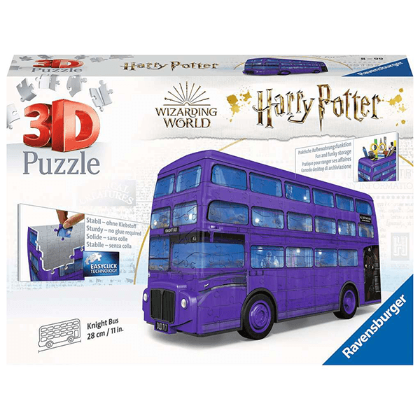 Harry Potter Knight Bus 216 Piece 3D Puzzle