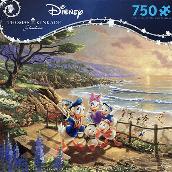 Ceaco Donald and Daisy A Duck Day Afternoon 750 Piece Puzzle