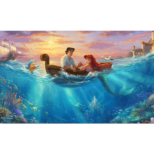 Ceaco Little Mermaid Falling in Love 750 Piece Puzzle