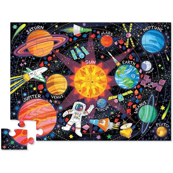 Crocodile Creek Space Explorer Puzzle (36 Pieces)