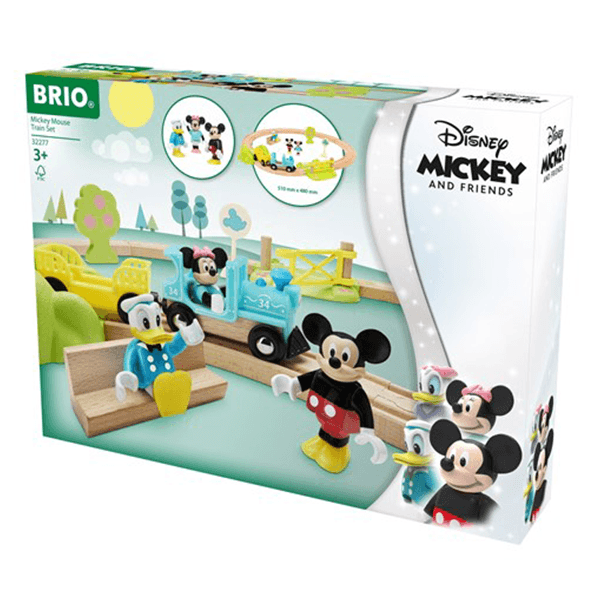 Brio Mickey Mouse Train Set