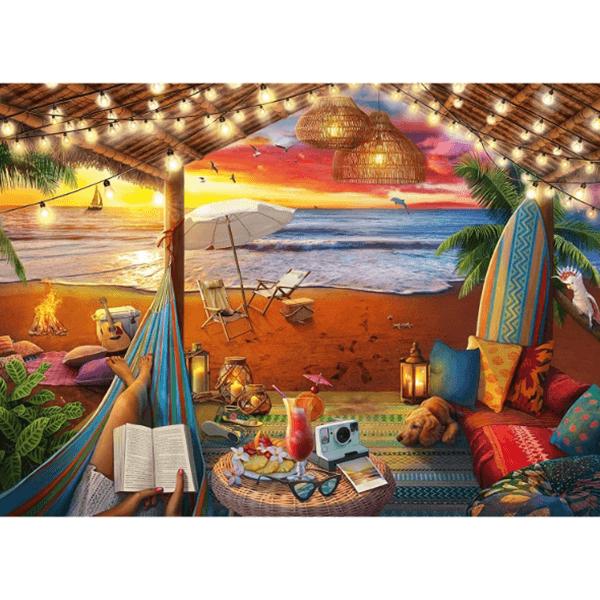 Ravensburger Cozy Cabana 500 Piece Puzzle