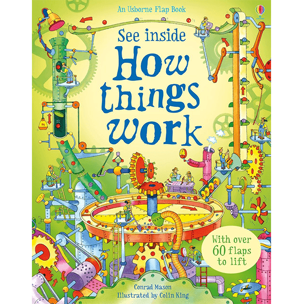 See Inside How Things Work Hardcover