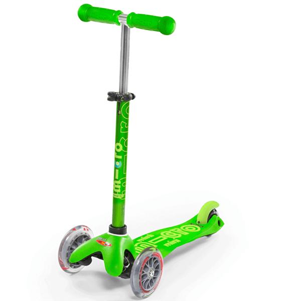 Mini Micro Deluxe Kickboard (Green)