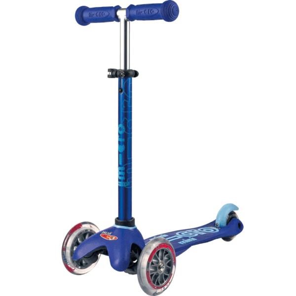 Mini Micro Deluxe Kickboard (Blue)