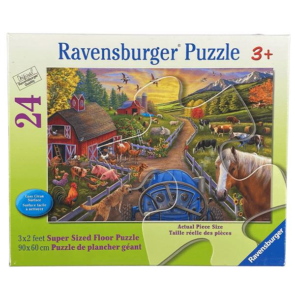 Ravensburger My First Farm Floor 24 Piece Puzzle