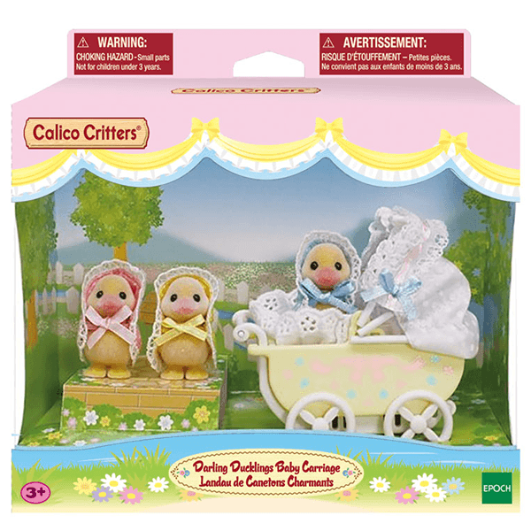 Calico Critters Darling Ducklings Baby Carriage