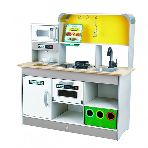 Hape Deluxe Kitchen with Fun Fan Stove