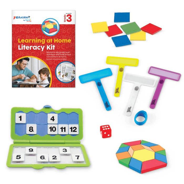 JR Education Learning at Home Literacy Kit - Grade 3